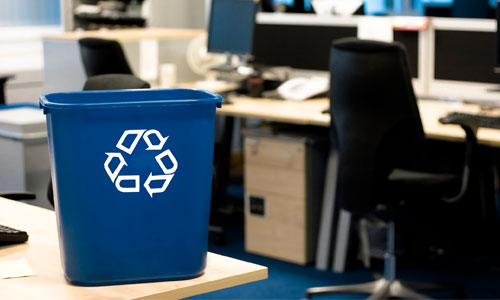 Work in an Office? Schedule a waste audit now!