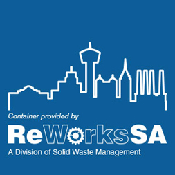 Container Provided by ReWorksSA, a Division of Solid Waste Management