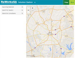 Solution Station GIS Application Screenshot